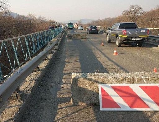 В Приморье сделают объезд моста в районе Смоляниново