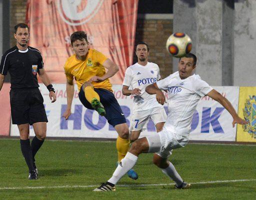 Футболисты «Луча-Энергии» смогли отыграться в матче с «Ротором»
