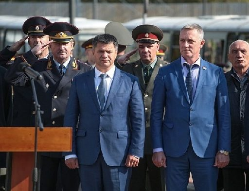 В Приморье почтили память погибших сотрудников органов внутренних дел