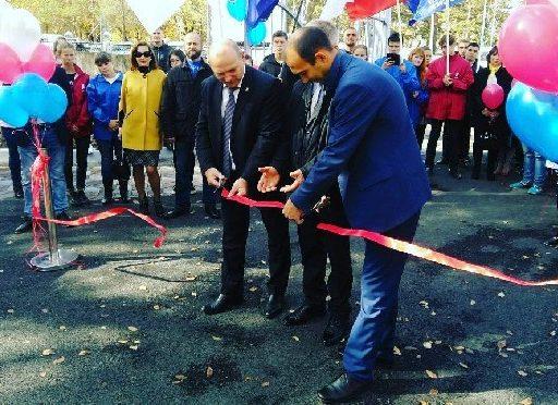 В Арсеньеве состоялось торжественное открытие обновленного городского парка «Восток»