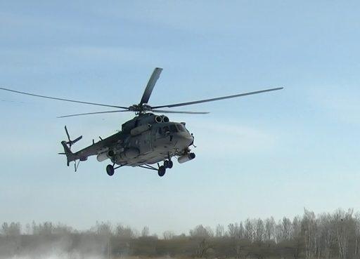 «Терминаторы» армейской авиации ВВО уничтожили склады с вооружением условного противника в Приморье