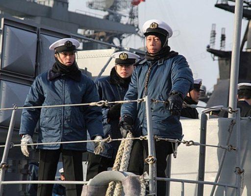 Во Владивосток прибыл японский эсминец «Хамагири»