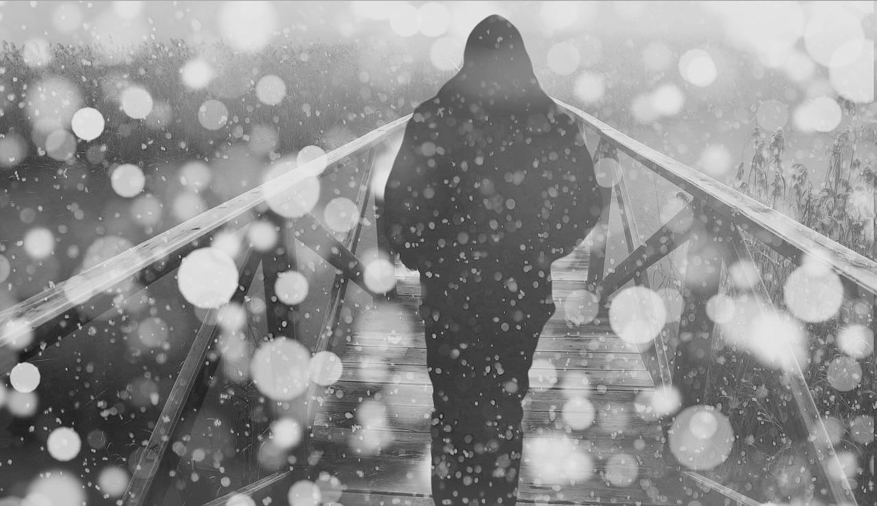 Во Владивостоке начался очередной снегопад