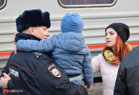 Приморские полицейские отправились в очередную командировку на Северный Кавказ