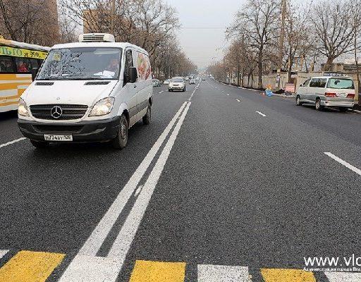 Во Владивостоке завершен комплексный ремонт Народного проспекта