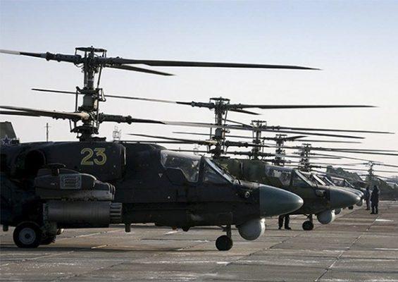 Партию вертолётов Ка-52 «Аллигатор», которые выпускают в Приморье, передадут в войска