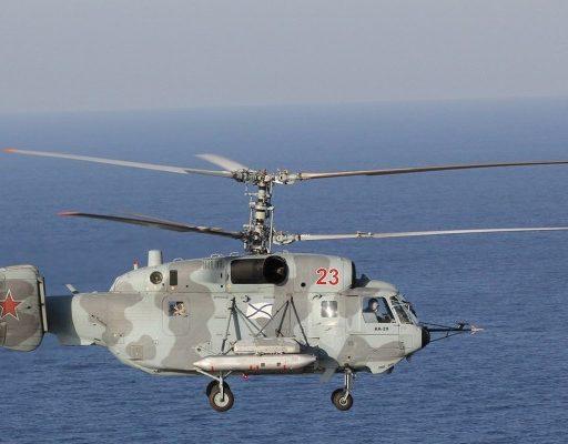 Морская авиация ТОФ пополнилась шестью обновлёнными вертолётами Ка-29