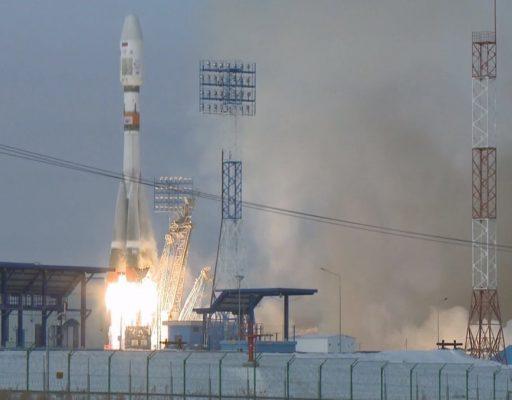 С космодрома Восточный запустили ракету-носитель «Союз-2.1б»