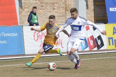 Получив нового спонсора, футболисты «Луча» сыграли вничью с «Волгарём»