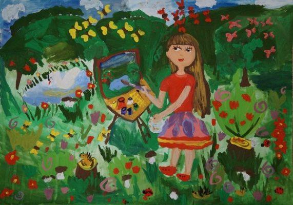 Гостей и жителей Владивостока пригласили на выставку работ юных художников «Страна Фантазия»