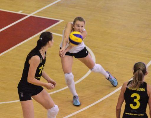 Волейболистки «Приморочки» уступили в Уфе, хотя и выиграли первые две партии