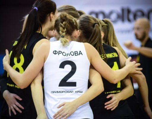 Волейболистки «Приморочки» выиграли у курянок в повторном матче