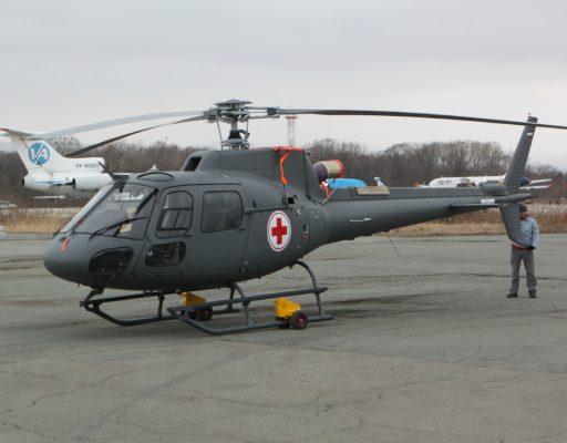 На обслуживание двух санитарных вертолётов в Приморье выделили 50 млн рублей