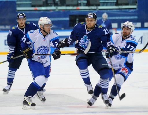 Хоккеисты «Адмирала» выиграли у минского «Динамо» со счётом 5:0