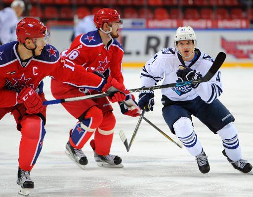 «Адмирал» проиграл ЦСКА в гостях