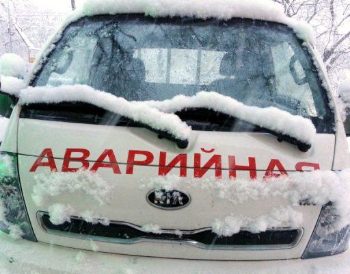 На фоне начавшегося снегопада во Владивостоке уже произошло ДТП