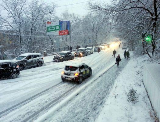 В понедельник, 30 декабря, во Владивостоке ожидается снег — мэрия