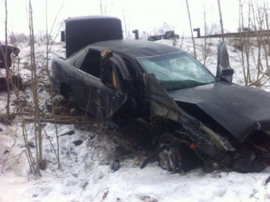 В Приморье в результате страшного ДТП погиб водитель иномарки