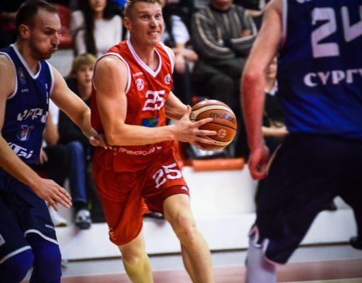 Баскетболисты «Спартака-Приморье» победили «Университет-Югру»
