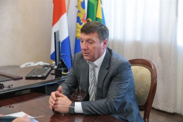 Сергей Овчинников. Фотография пресс-службы администрации Приморского края