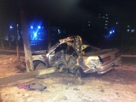 В Артёме в результате жуткого ДТП погибли два человека