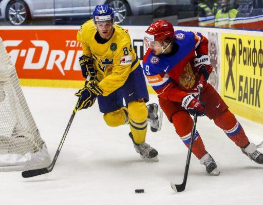 Хоккей: матч Россия — Швеция завершился со счётом 3:1