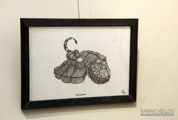 Во Владивостоке открылась выставка памяти художника и музыканта Михаила Эйдуса