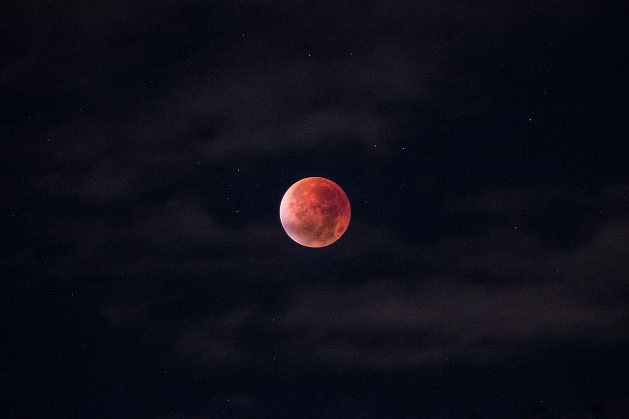 Жители Владивостока наблюдали в один вечер полное лунное затмение, суперлуние и «голубую» Луну