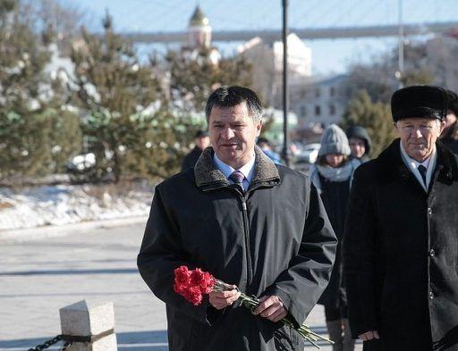 Врио губернатора Приморья Андрей Тарасенко лично поздравил подводников Тихоокеанского флота