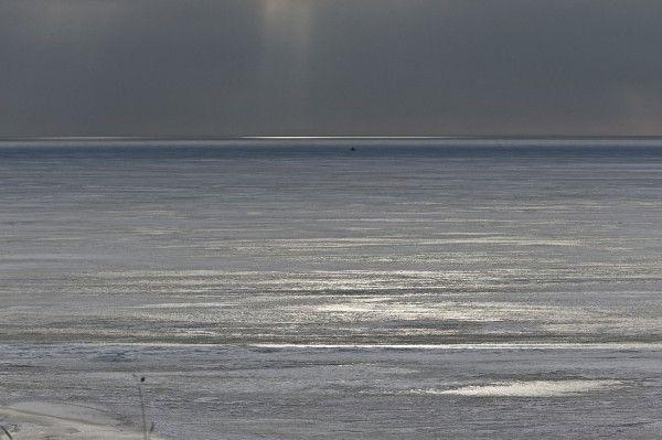 Море, лёд, зима
