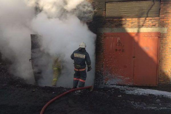 В приморском селе Владимиро-Александровское горела подстанция. Её работа восстановлена
