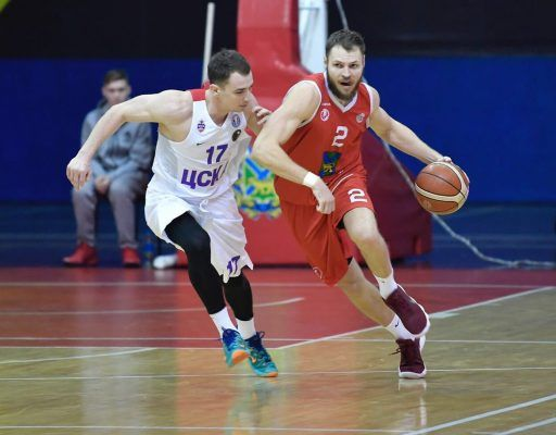 Баскетболисты «Спартака-Приморье» вновь выиграли у ЦСКА-2