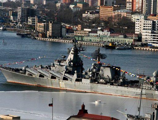 СМИ: моряки с флагмана Тихоокеанского флота напали на сотрудников Росгвардии во Владивостоке