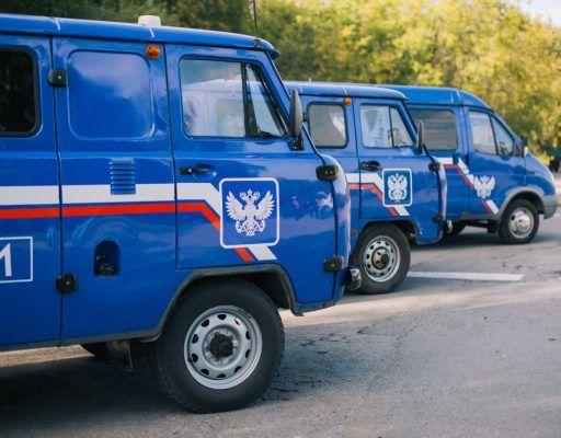 Приморский филиал Почты России существенно обновил свой автопарк