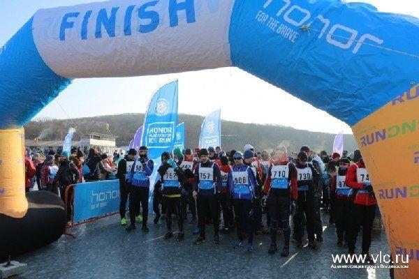 Международный ледовый полумарафон Honor Vladivostok Ice Run пройдёт в День защитника Отечества