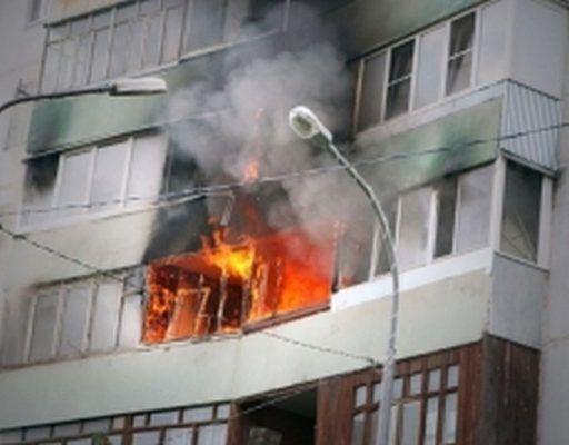 В Артёме на балконе квартиры горела стиральная машина