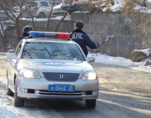 Полицейская погоня со стрельбой в Приморье закончилась ДТП с участием патрульных авто