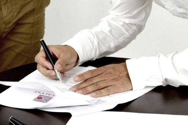 Документы, подпись, бизнес