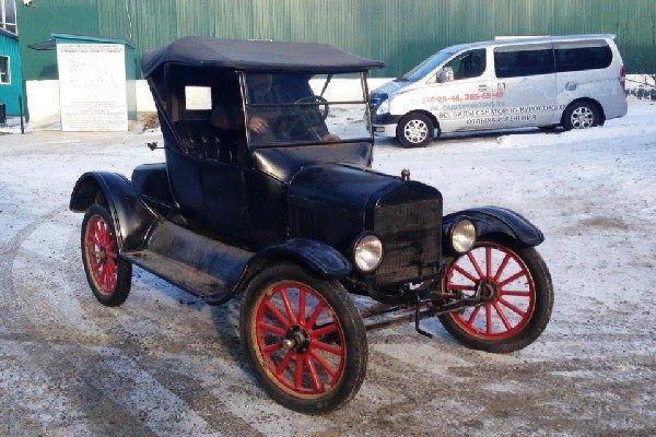 Легендарный Ford Model T полностью восстановлен и теперь выставлен в музее «Техника XX века в Приморском крае»