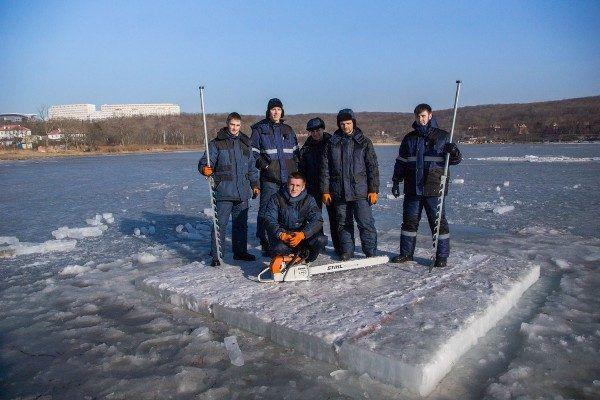 В ДВФУ разработают новую технологию строительства ледовых островов