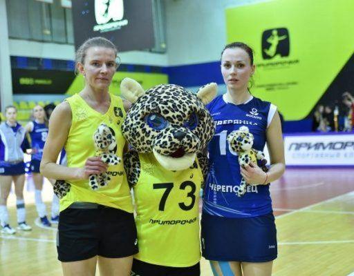 Волейболистки «Приморочки» во второй раз подряд победили действующих чемпионок