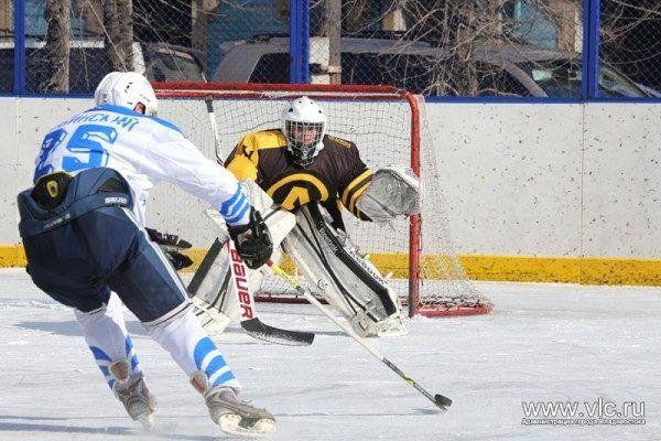 «Армада» стала чемпионом Владивостока по хоккею