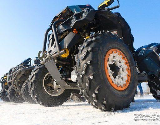 Во Владивостоке прошёл третий этап чемпионата по ледовому мотокроссу