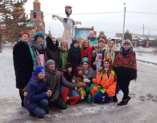 В Спасске-Дальнем вкусно и весело проводили Масленицу