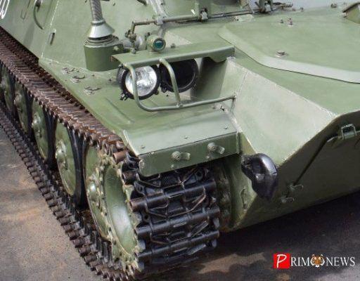 Жителей Владивостока удивила колонна военной техники на Второй Речке