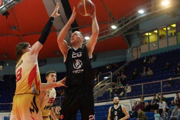 Баскетболисты «Спартака-Приморье» начали плей-офф с победы над ЦСКА-2