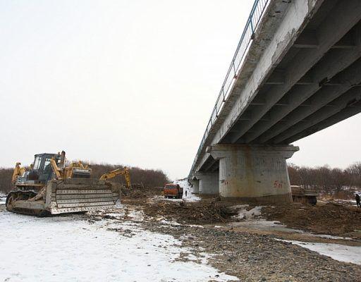 На строительство моста через реку Литовка в Приморье выделили почти 290 млн рублей