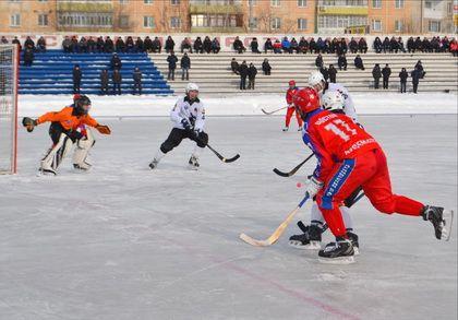Арсеньевский «Восток» поделил очки с кемеровчанами в матчах первенства России по хоккею с мячом