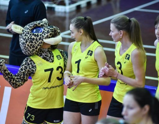 Волейболистки «Приморочки» вышли в полуфинал Кубка Сибири и Дальнего Востока