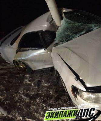 Жуткое ДТП в Приморье: иномарку почти разрубило пополам